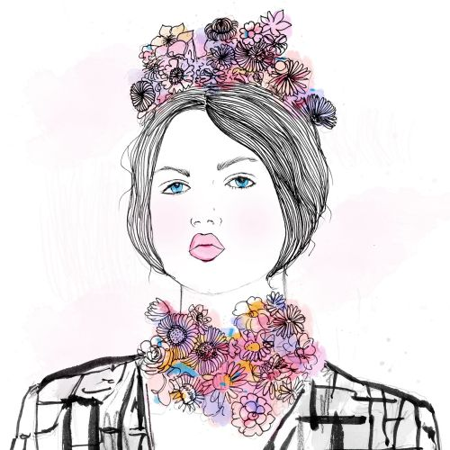Chrissy Lau Intricate line illustrator. Australia