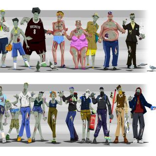Christophe Bugetti Personnages