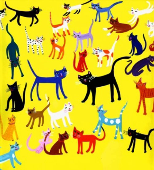pop art of cats