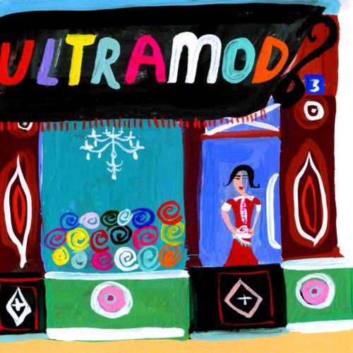 acrylic lettering art Ultramod