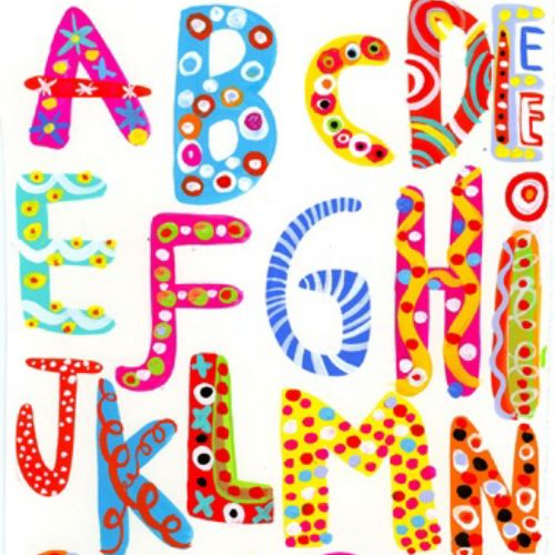 Alphabets illustration by Christopher Corr