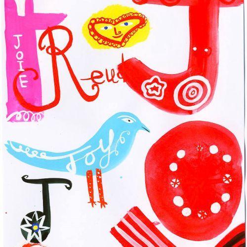 Birds contemporary illustration