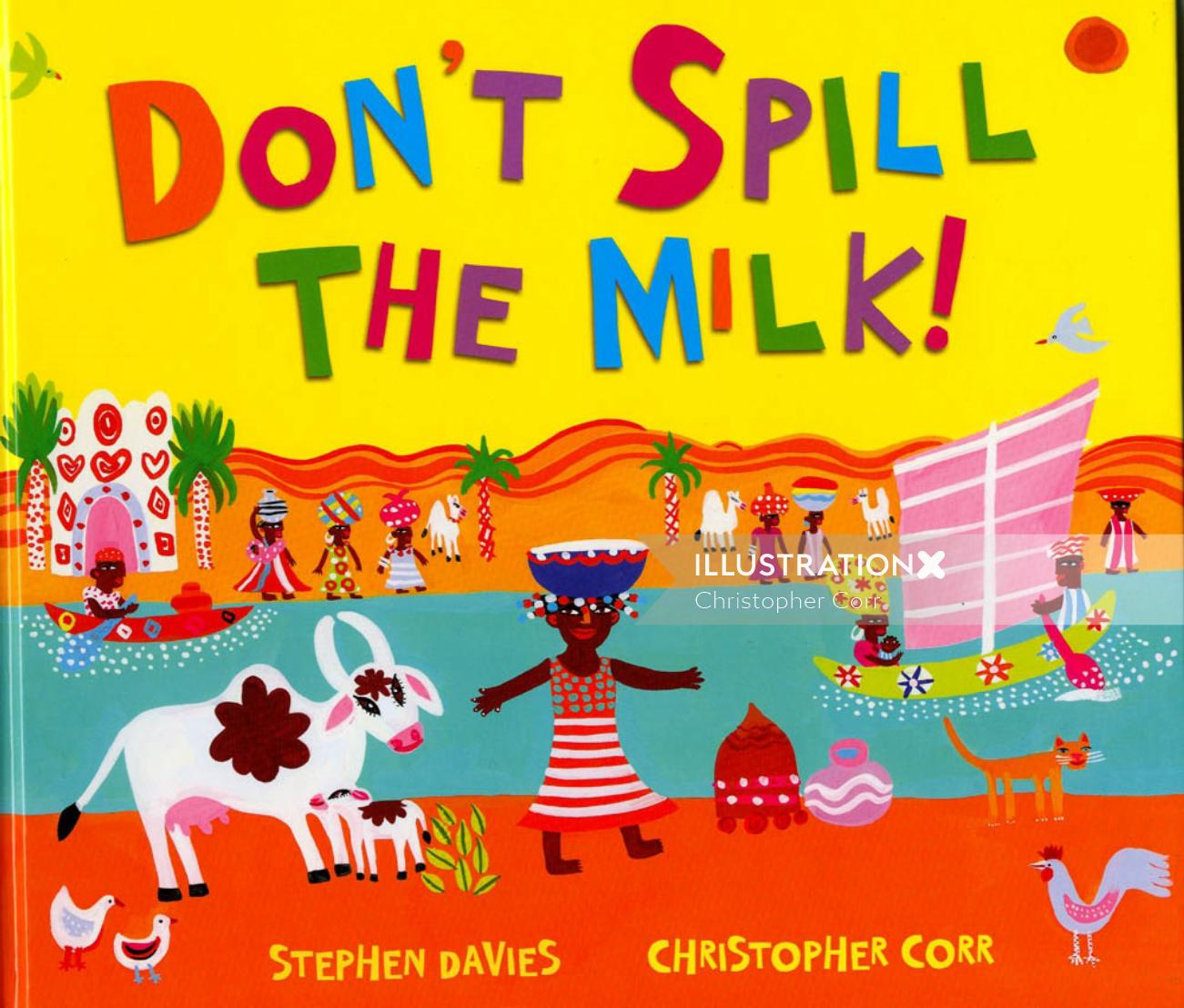 Don't Spill the Milk book