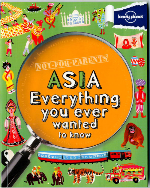 Asia book illustration by Christopher Corr