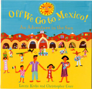 Mexico book illustration by Christopher Corr