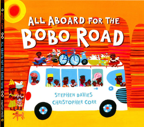 Bobo road book cover illustration