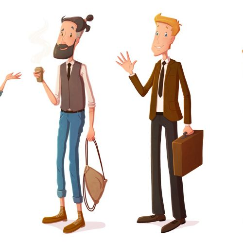 Cindy Fröhlich Diseño de personajes
