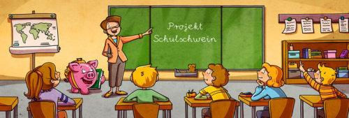 Projet d'enseignement d'illustration d'enfants schulochwein
