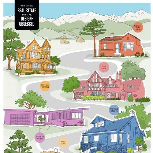 Claire Rollet Architecture et style de vie internationaux. illustrateur.