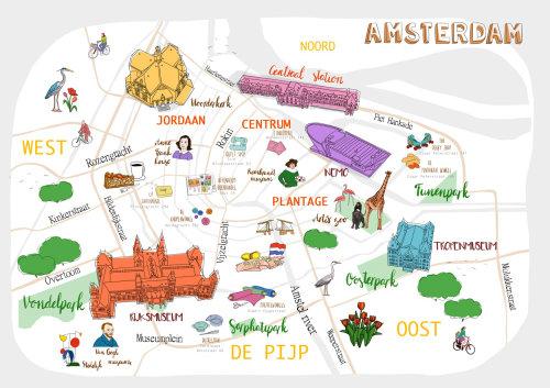 amsterdam, rijksmuseum, centraal station, tropenmuseum