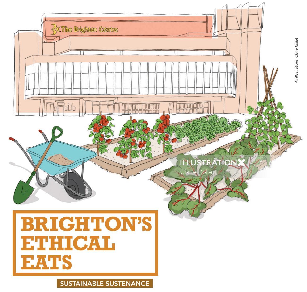 brighton, food guide,