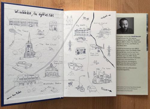 Book map illustration of Wimbledon Haydons Road