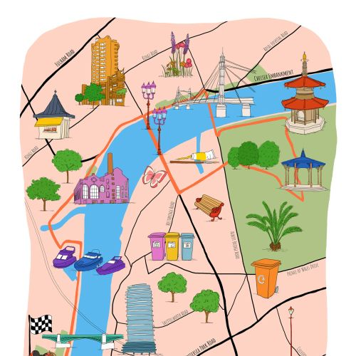 Claire Rollet Maps