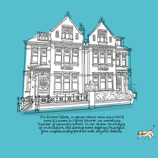 Ferris wheel illustration by Claire Rollet