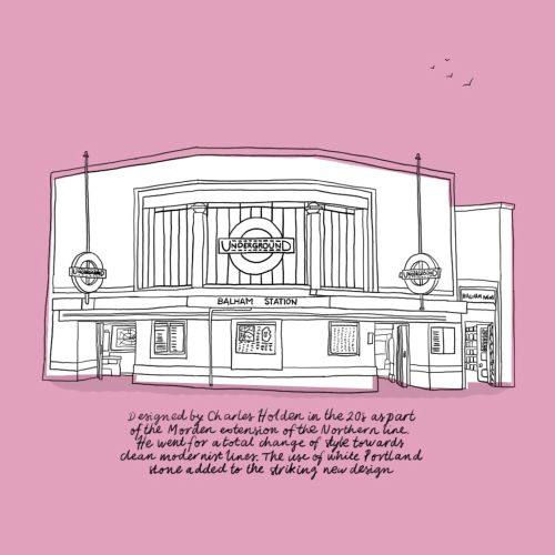 Telephone box illustration by Claire Rollet