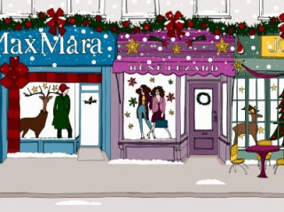 Metropolis shopping illustration by Claire Rollet