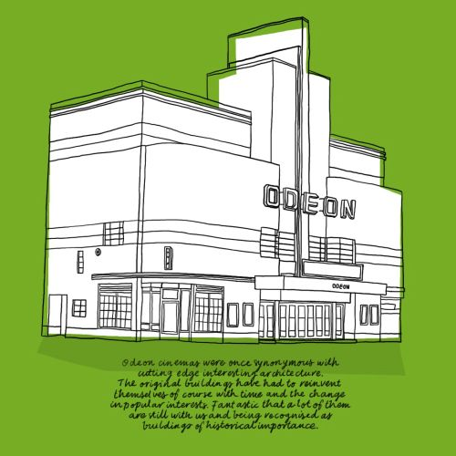 Empire state building illustration by Claire Rollet
