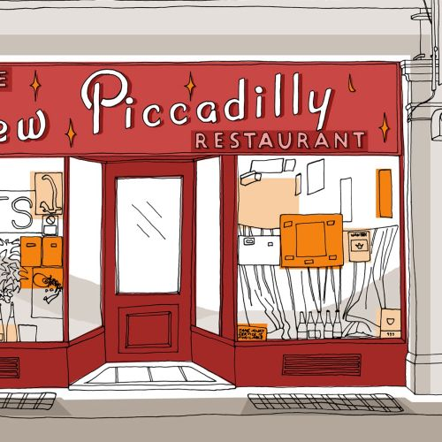 New Piccadilly illustration by Claire Rollet