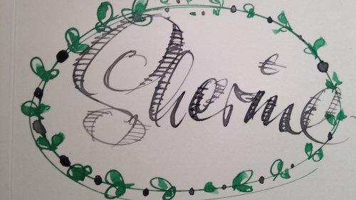 Shemme de caligrafia