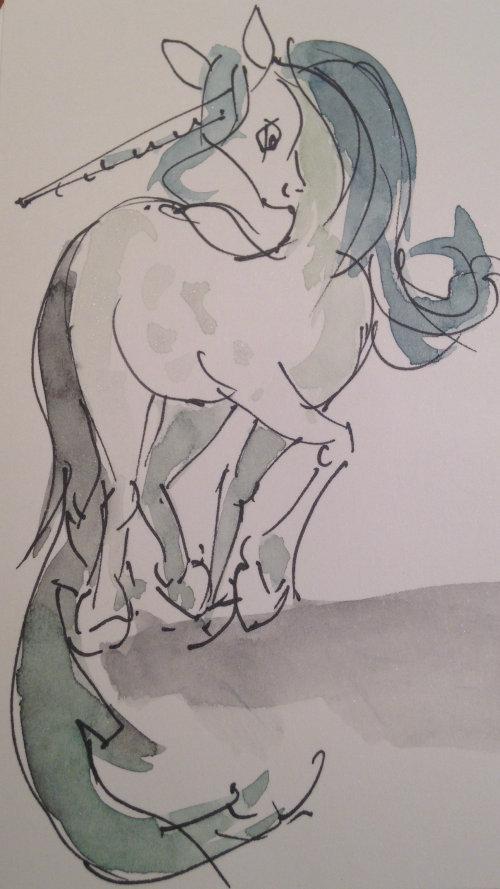 Loose illustrtion of Unicorn