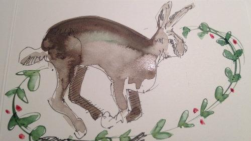 Ilustração de animal solto de canguru