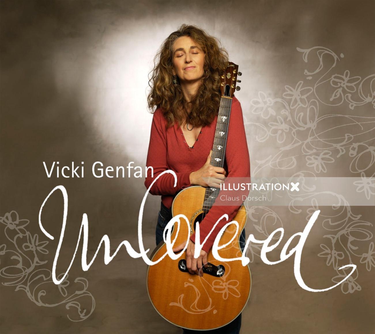 Lettering Vicki Genfan uncovered
