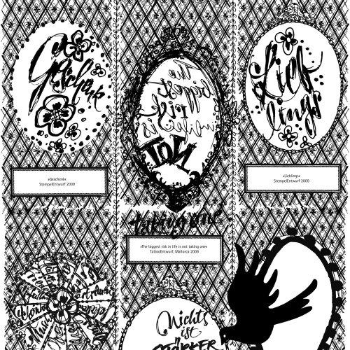 Colagem de letras