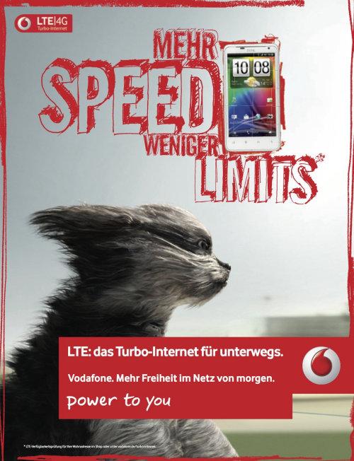 Lettering Mehr Speed Weniger Limits
