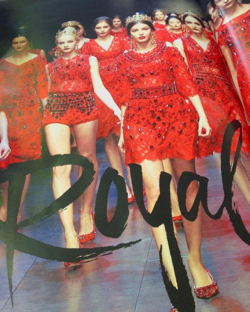Fashion Lettering Royal