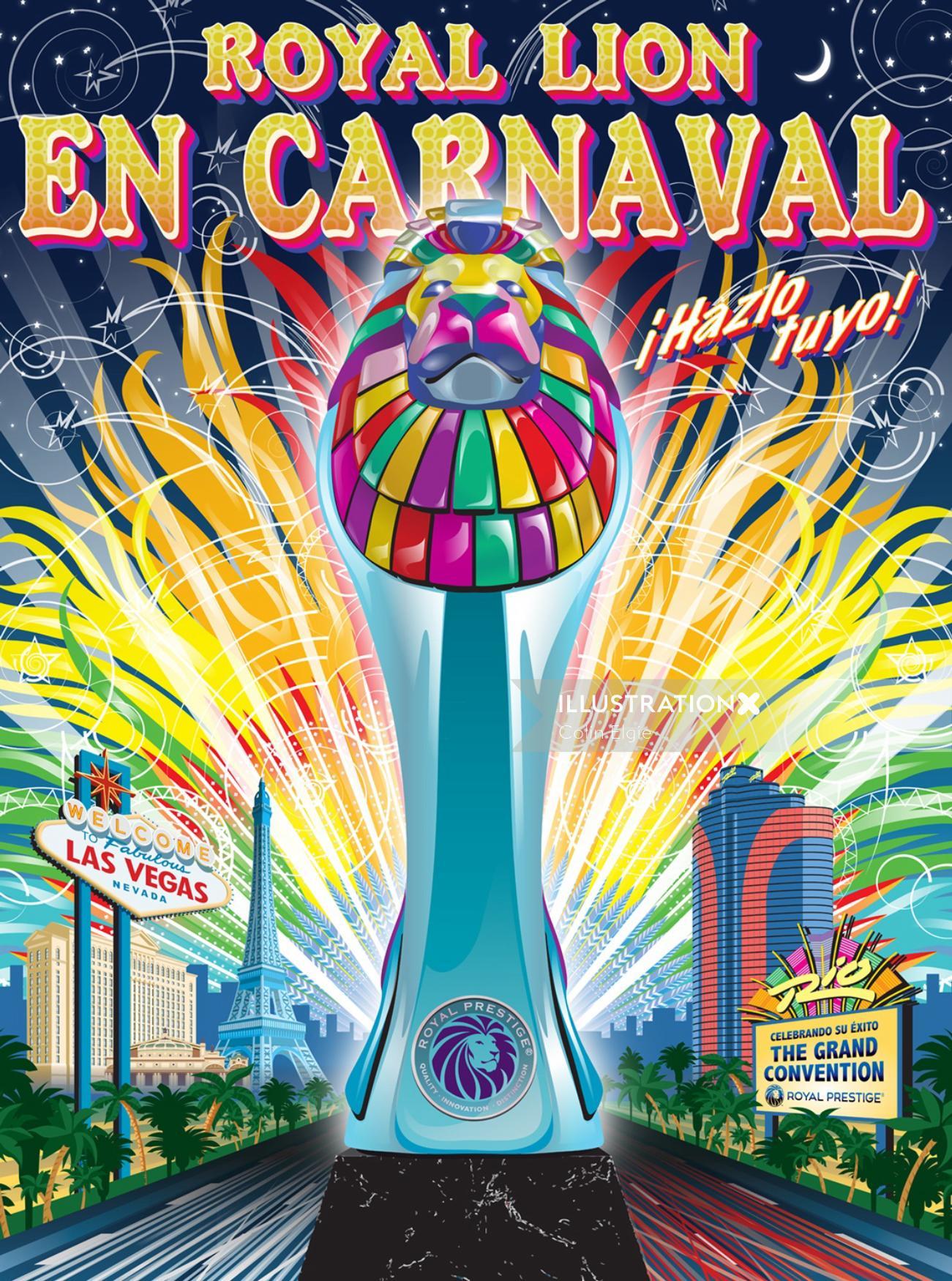 Las Vegas Convention Poster