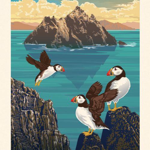 Colin Elgie Ilustrador de inspiración retro. Reino Unido