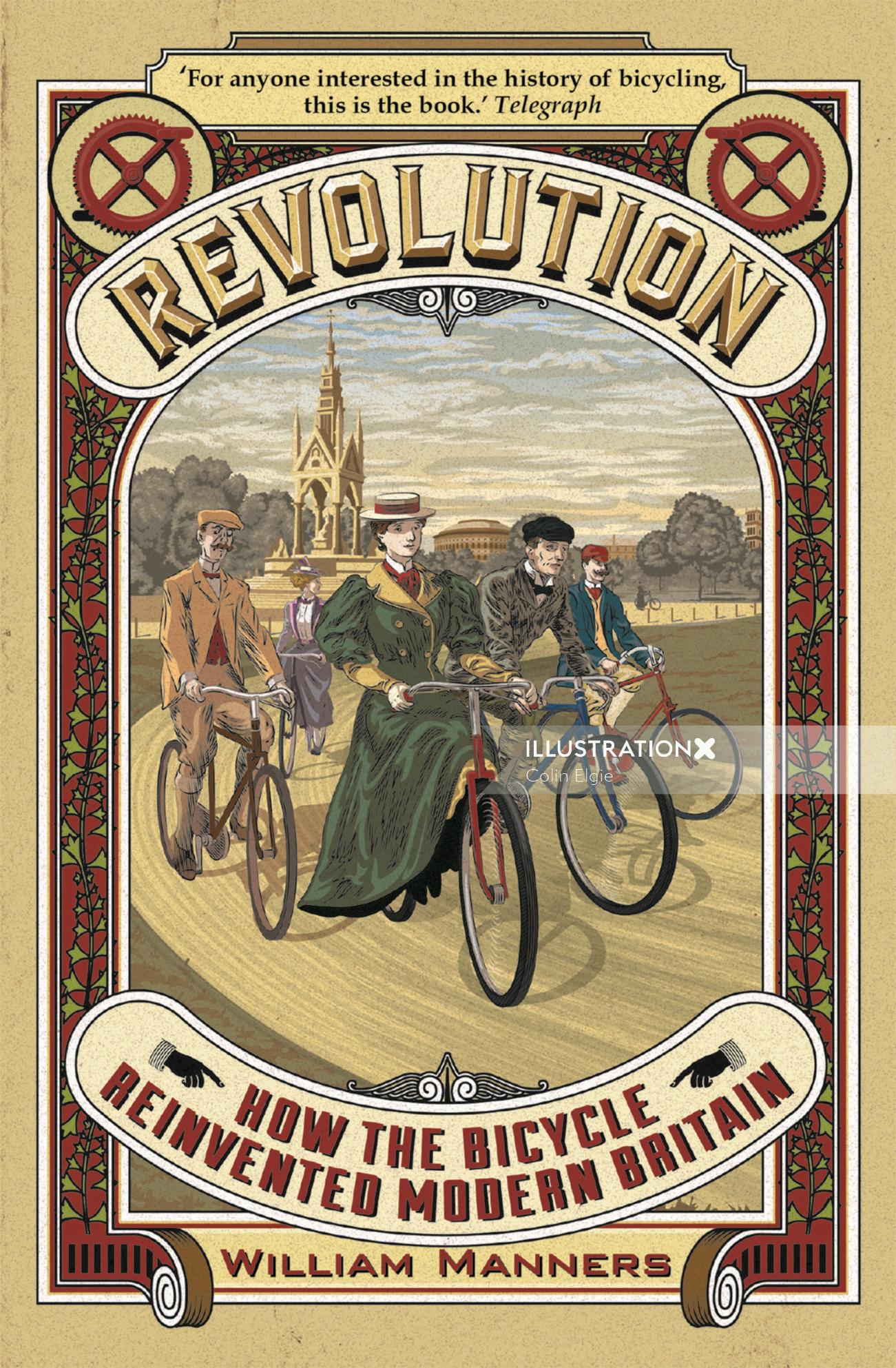 Bicycle History Book Cover