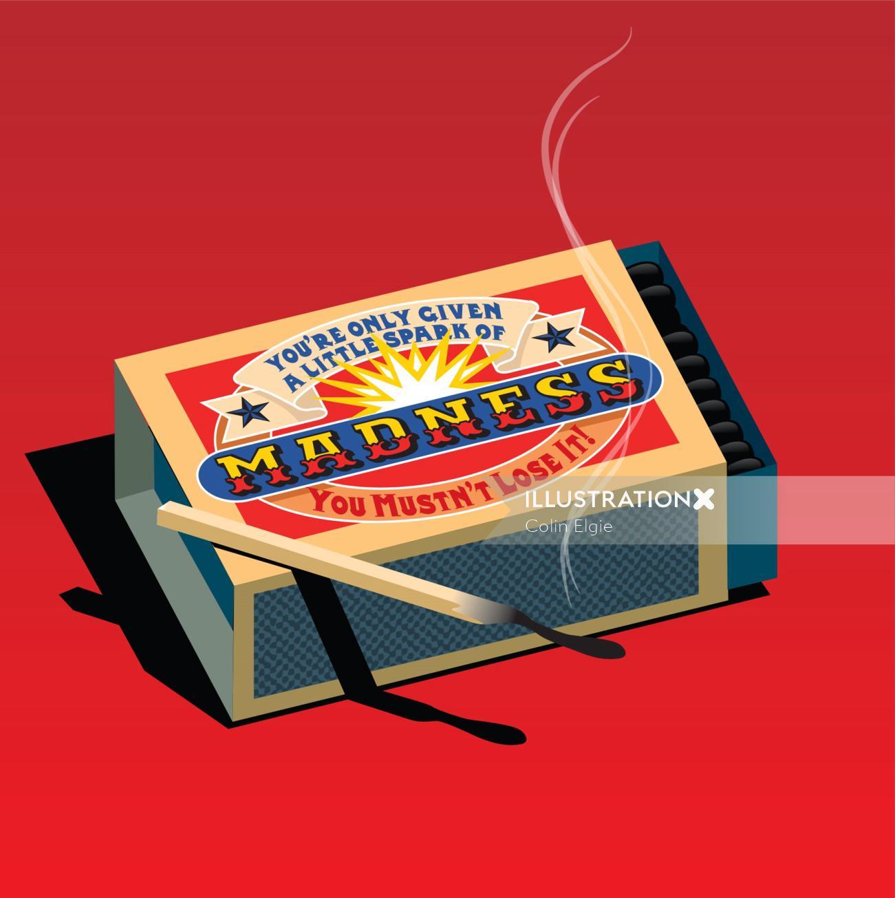Digital Madness Matchbox