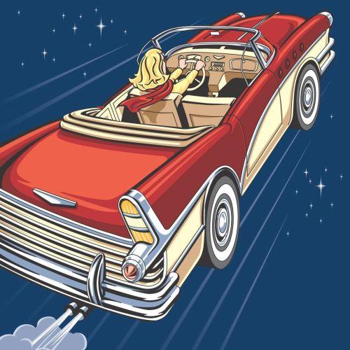Colin Elgie Retro inspired illustrator. UK