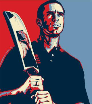 A portrait illustration of Kevin Pietersen
