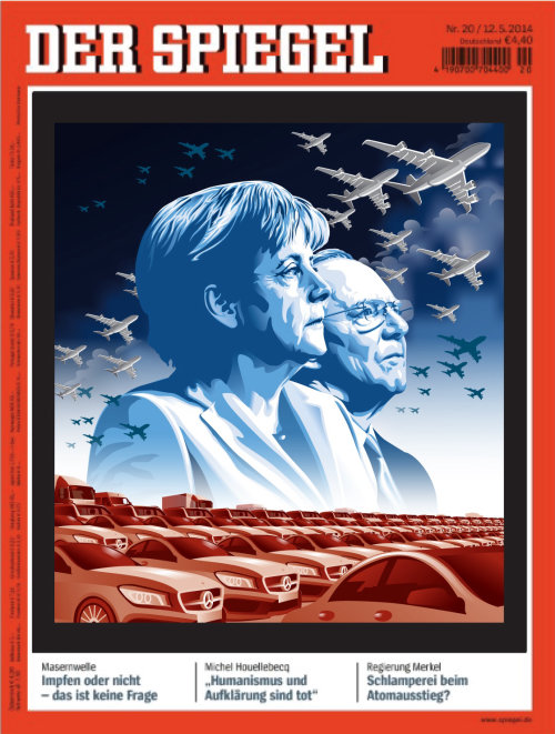 Illustration for Der Spiegel series