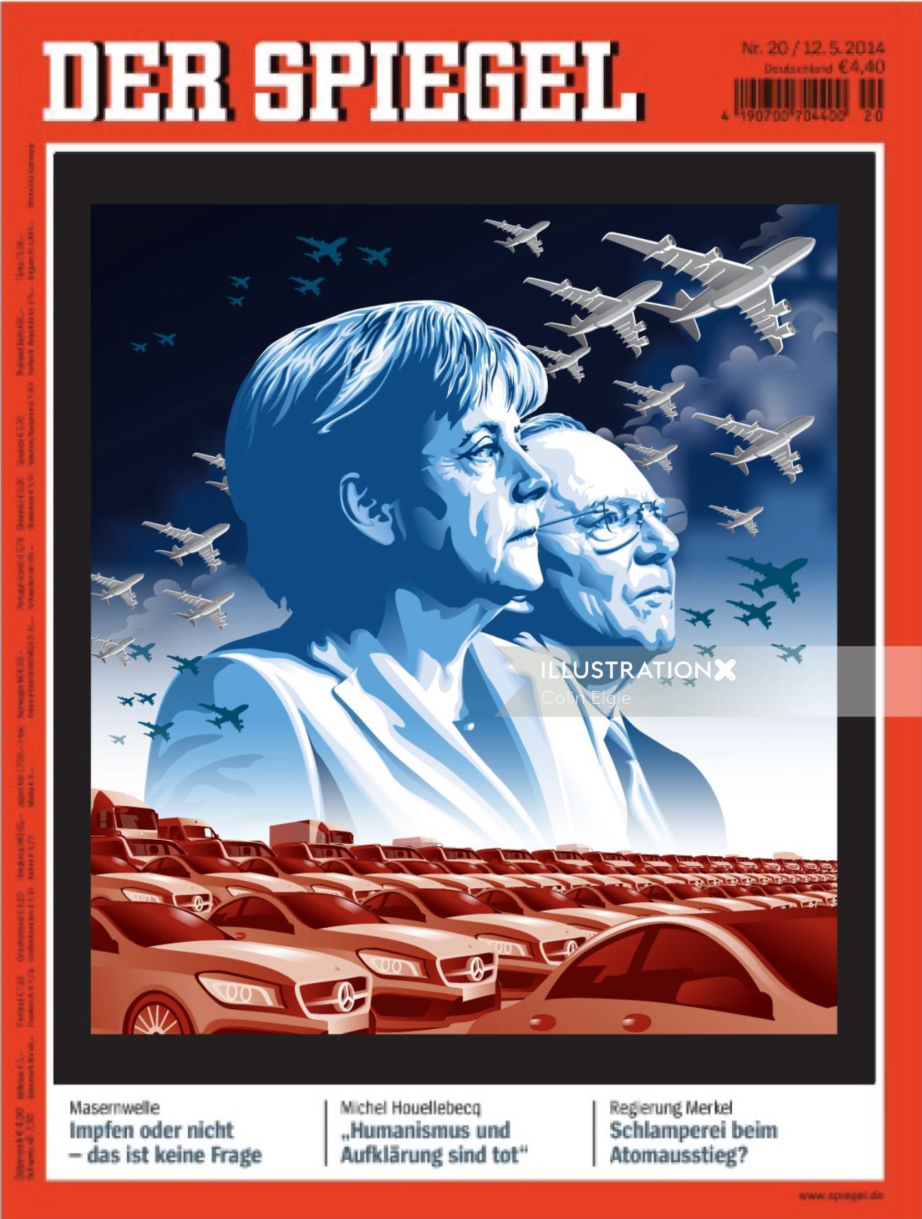 Illustration for Der Spiegel series