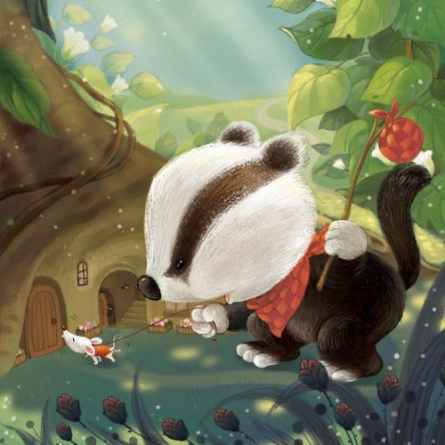 Corinna Ice Children's book illustrator. China