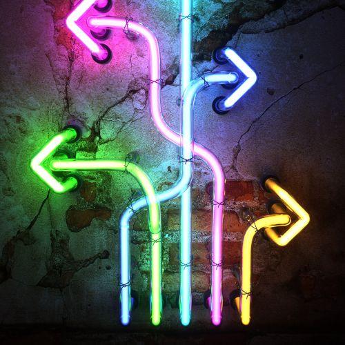 ARROWS Neon Sign