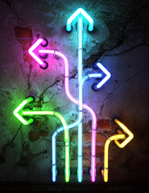 ARROWS Neon Sign
