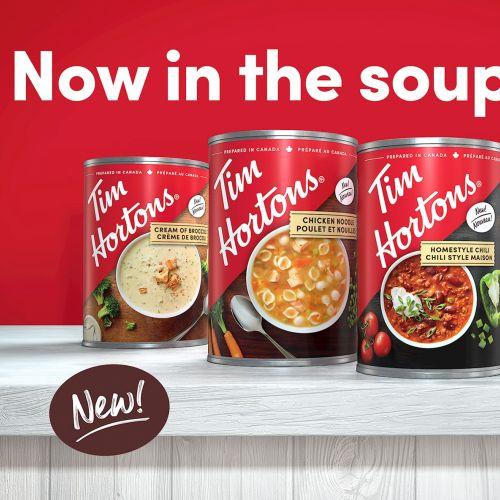 Tim Hortons Soups