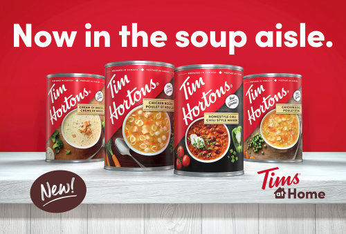 Tim Hortons soup can illustration by Dan Couto