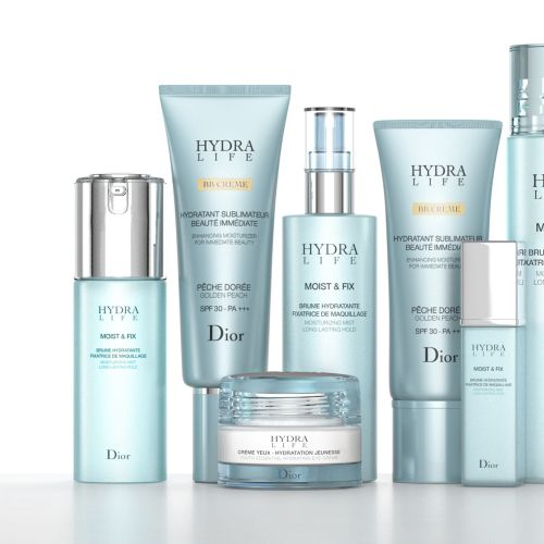 Dior Hydra Life beauty products