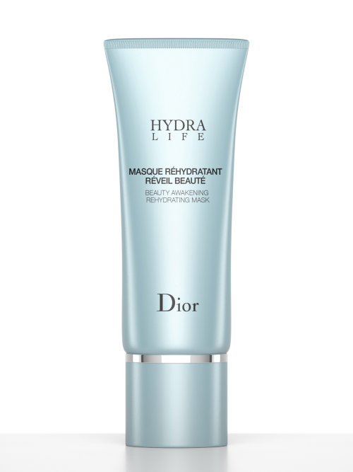 Dior Hydra Life Masque packaging illustration
