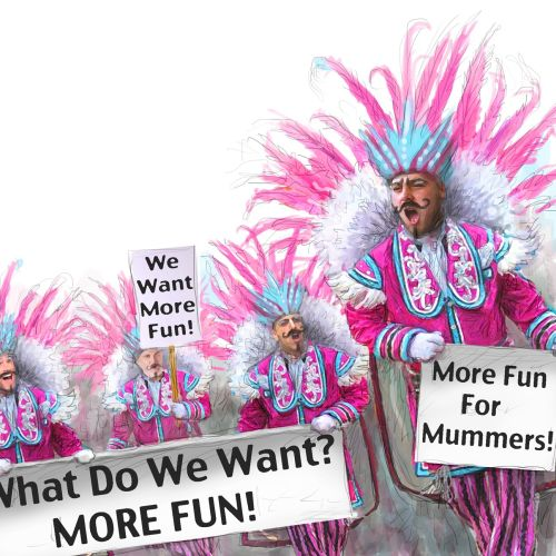 Mummer's Parade Graphic