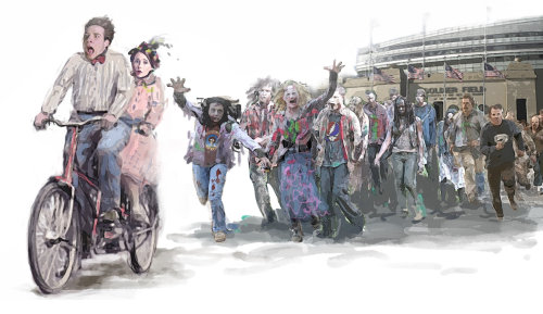 The Walking Dead. Deadheads Fantasy