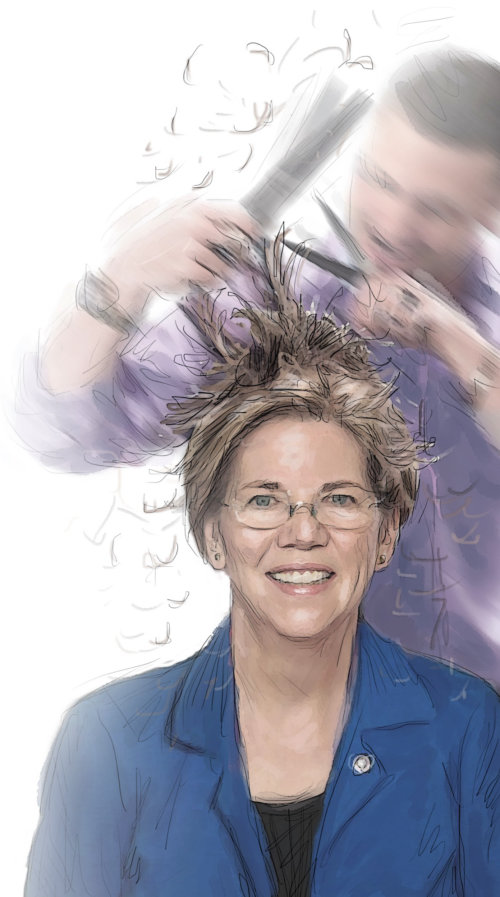 Elizabeth Warren people portraits