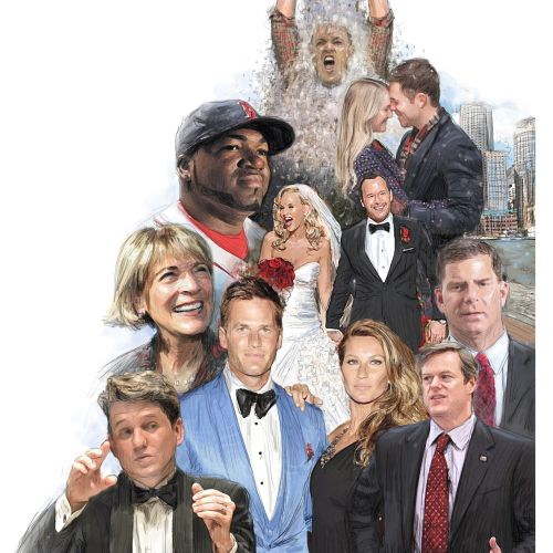 Boston celebrities people portraits