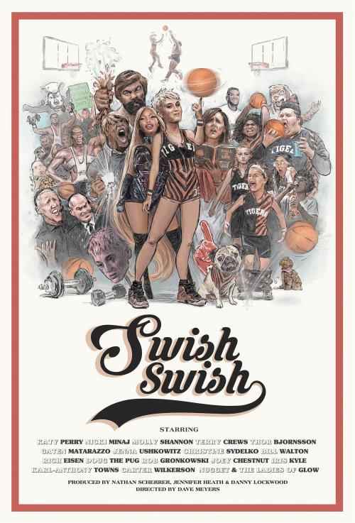 Cartel de Katy Perry de Swish Swish