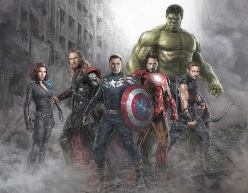 The Avengers fantasy poster